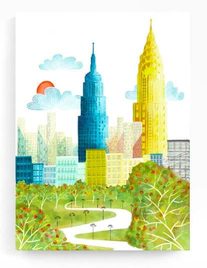 NYC Wall Art Prints - Empire State