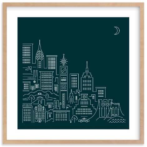 NYC Wall Art Prints - Goodnight New York