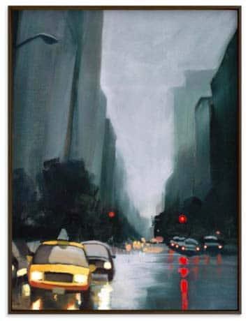 NYC Wall Art Prints - Taxi, Taxi!