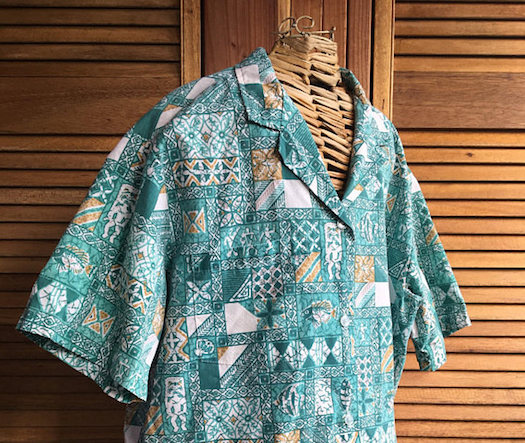 Hawaiian Gifts - Vintage Men's Shirt