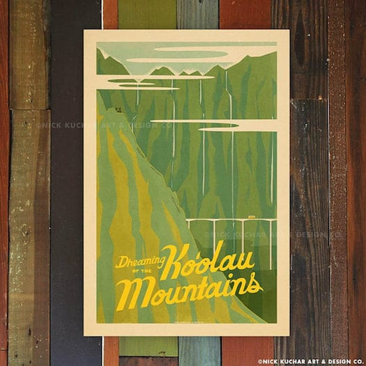 Hawaiian Gifts - Mid-Century Travel Posters