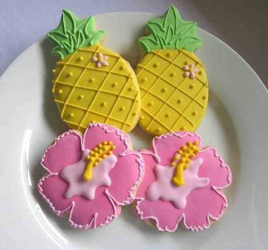 Hawaiian Gifts - Tropical Sugar Cookies