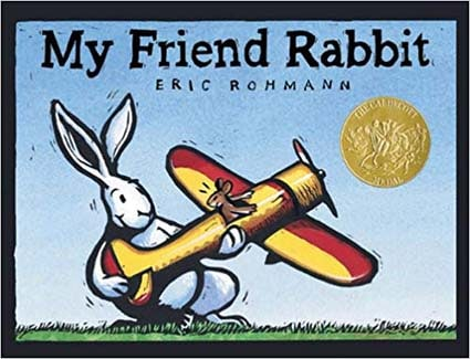 Caldecott Books 2003 - My Friend Rabbit