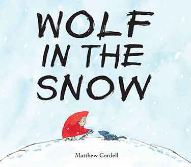 Caldecott Books - Wolf in the Snow