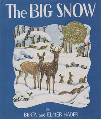 Caldecott Books 1949 - The Big Snow