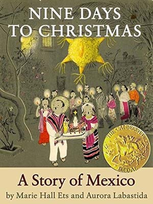 Caldecott Books 1960 - Nine Days to Christmas