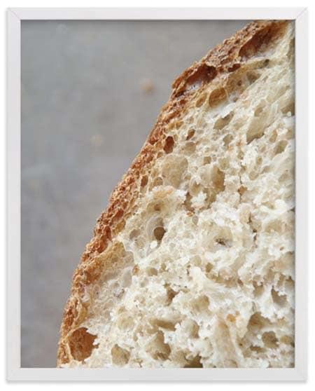 Gifts for Gluten Lovers - Sourdough Fine Art Print
