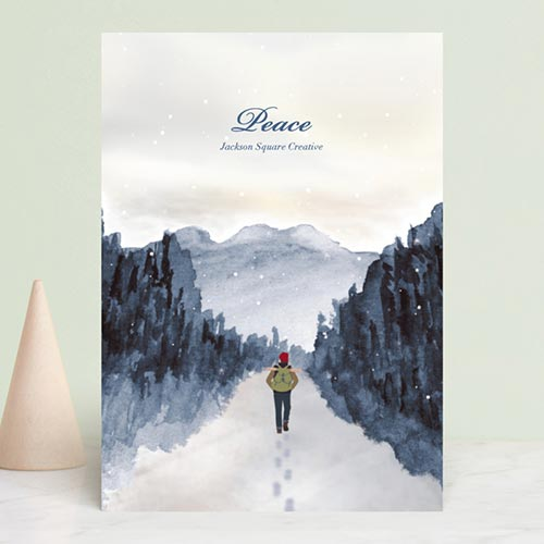 Business Holiday Cards - Peace of Quiet