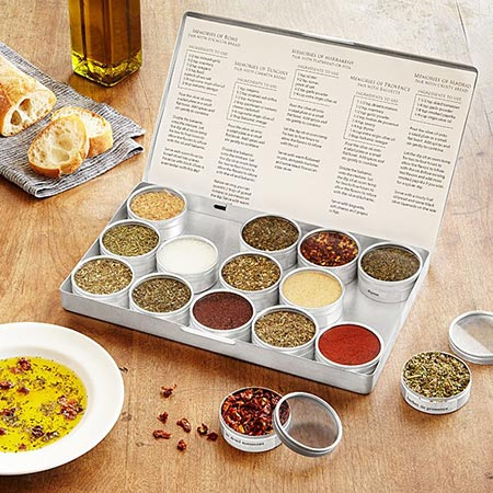 Gifts for Gluten Lovers - Oil Dipping Spice Kit